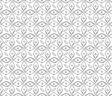 farmhouse stitch fabric by melissahyattfabrics on Spoonflower - custom fabric