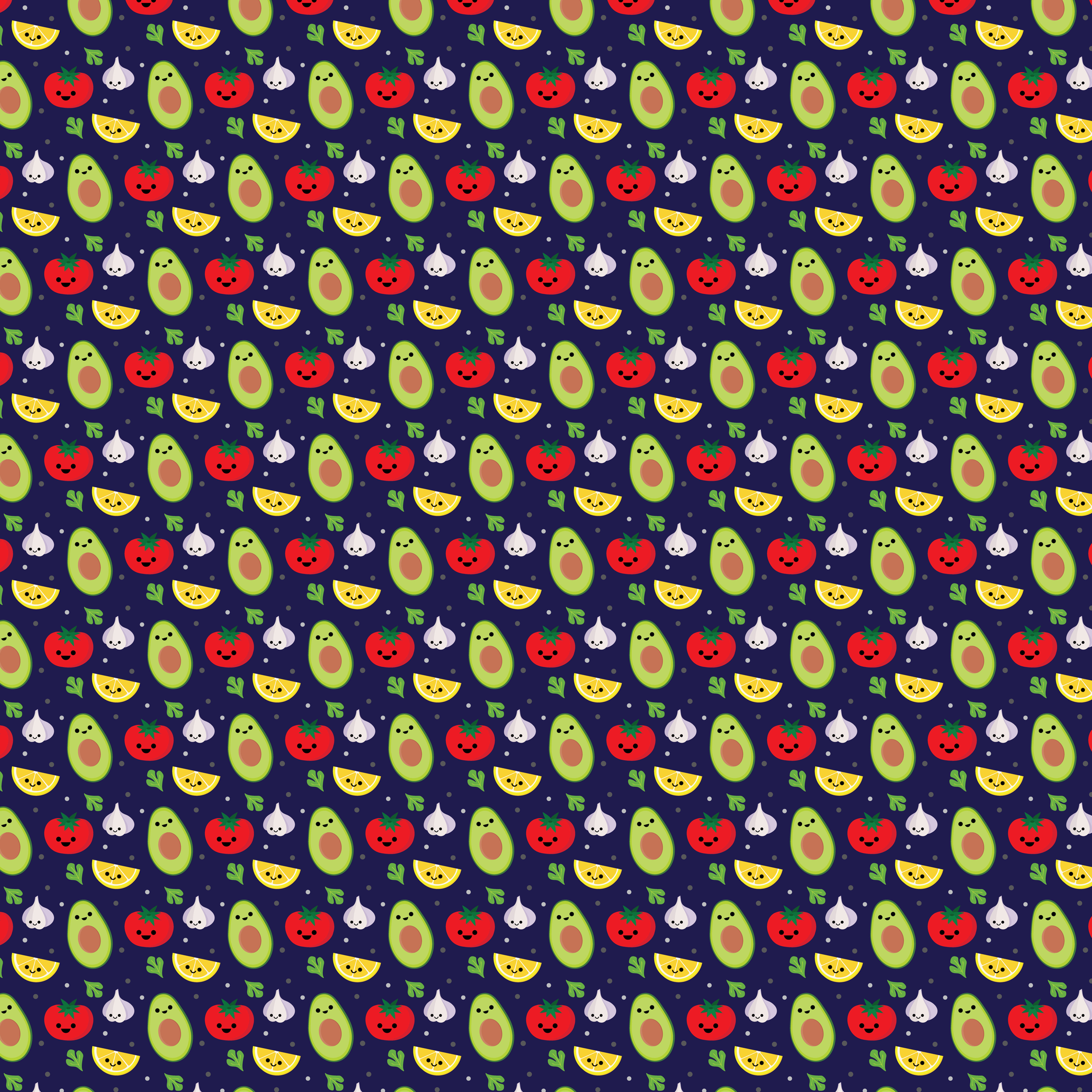 Guacamole! fabric by maidenskull on Spoonflower - custom fabric