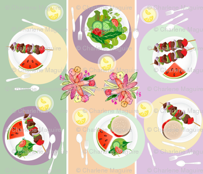 Summer Cookout Tabletop