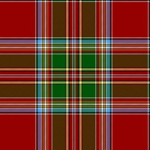 "MacLeod of Gesto tartan, 6"", 1850 from Wilson's of Bannockburn"