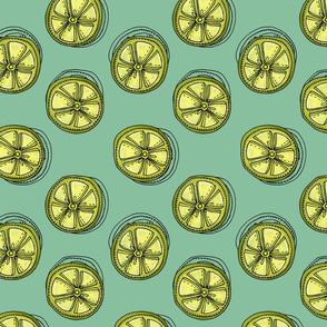 Lime Slices - Summer Citrus Print