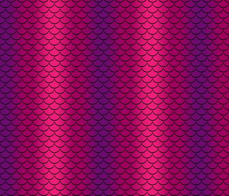 Siren in Kraken Color Scheme fabric by designedbygeeks on Spoonflower - custom fabric