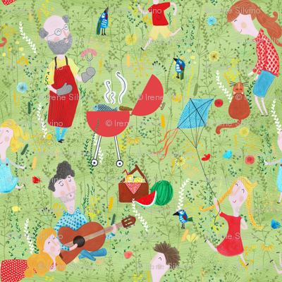 Pattern #76 - Family Summer Cookout