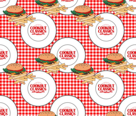 cookout_classics fabric by isabella_asratyan on Spoonflower - custom fabric
