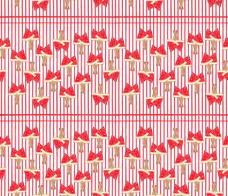 Watermelon Palette fabric by doris_rguez on Spoonflower - custom fabric