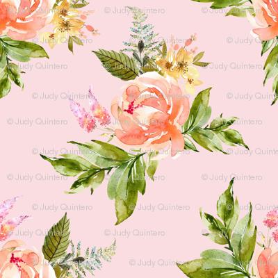 "21"" Ellie Florals - Pink"
