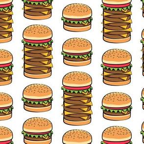 I love hamburgers - cookout fabric