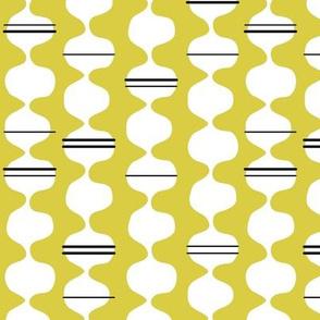 Funky Stripe Mustard
