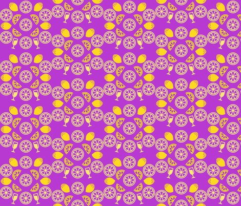 Thanks for the Lemonade fabric by wepop on Spoonflower - custom fabric