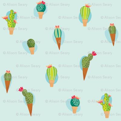 Summer Cactus Cones