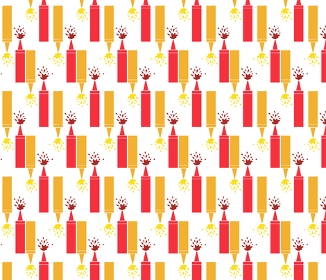 ketchup-n-mustard fabric by westworksstudio on Spoonflower - custom fabric