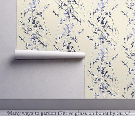 Many ways to garden (Native grass on bone) by Su_G_©SuSchaefer