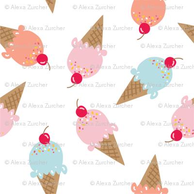Sweet Summer Ice Cream Cones
