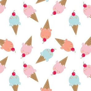 Sweet Summer Ice Cream Cones