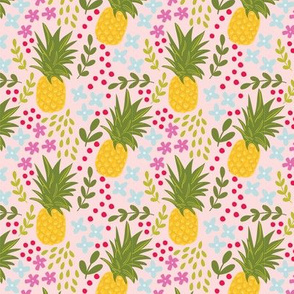 Pineapples in Pink