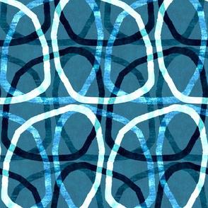modern blue touch