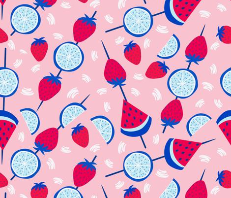 Savor Summer fabric by popelephant on Spoonflower - custom fabric