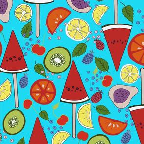 sunny summer fruitsalad