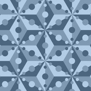 07421043 : SC3C spotty : slate blue