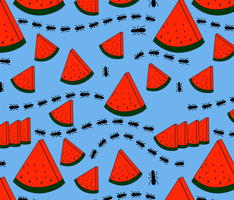 summer fabric by miriamcarnase on Spoonflower - custom fabric