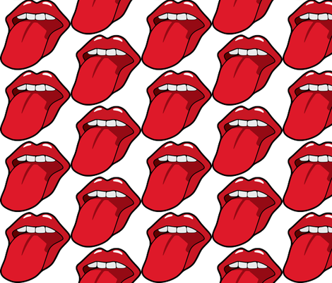 mouth-312558 fabric by ae_fresia on Spoonflower - custom fabric