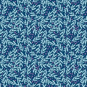 Vines in Navy
