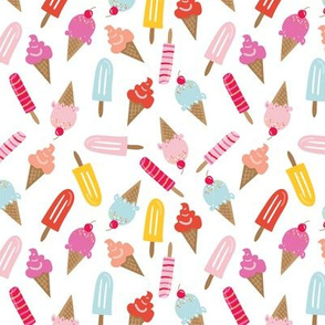 Ice Cream and Popsicles