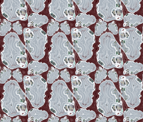 Geology for Rock Hunters! fabric by salzanos on Spoonflower - custom fabric