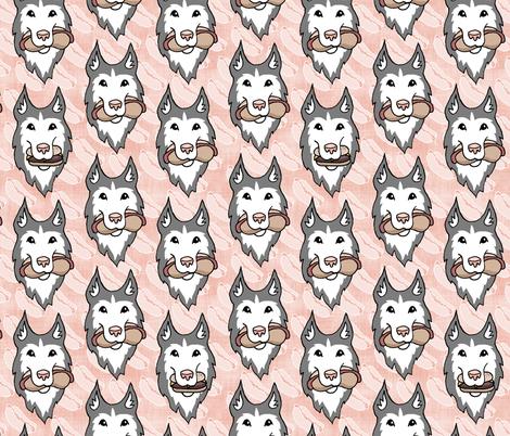 Dog Eat Dog fabric by pond_ripple on Spoonflower - custom fabric