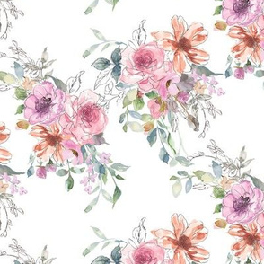 Blush Pastel Blooms