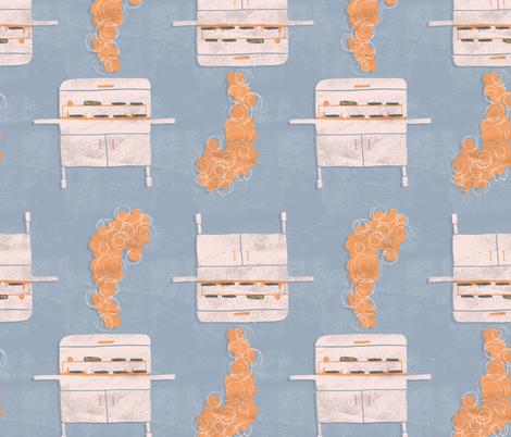 We Be Grillin' fabric by scarlette_soleil on Spoonflower - custom fabric