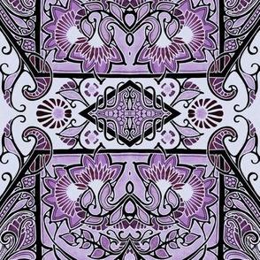 In a Purple Petal Place
