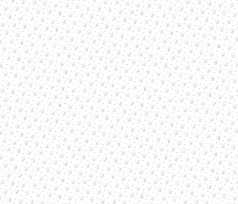 bumblebees light grey and white small fabric by misstiina on Spoonflower - custom fabric