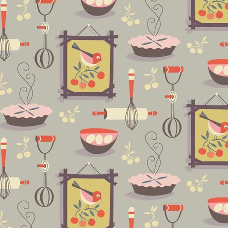farmhouse kitchen  fabric by studiojenny on Spoonflower - custom fabric