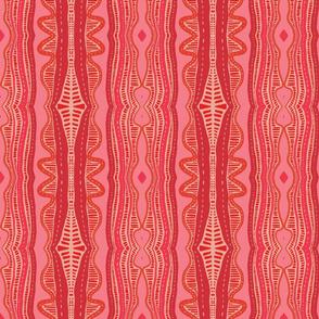 Pink Boho Waves
