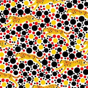 Yellow Dotty Cheetahs