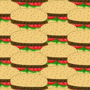 All American Hamburgers, Medium