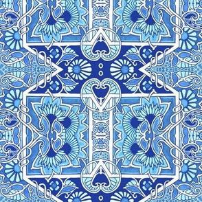 Art Nouveau Tendencies Blues