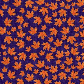 Tiny Maples On Purple