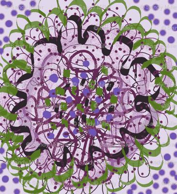 dottie lace posies ll/lavender