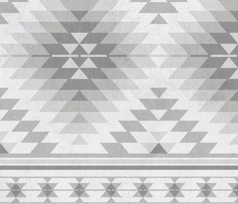 kilim grey fabric by delinda_graphic_studio on Spoonflower - custom fabric