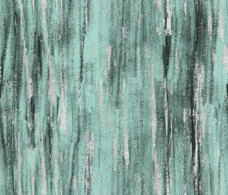 painted texture Blue Sage Jade Silver fabric by crystal_walen on Spoonflower - custom fabric