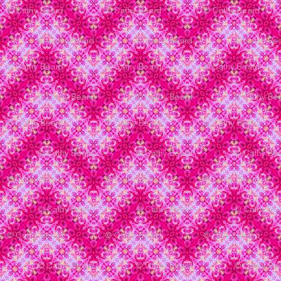 Pink Zig Zag Tie Dye Bubbles