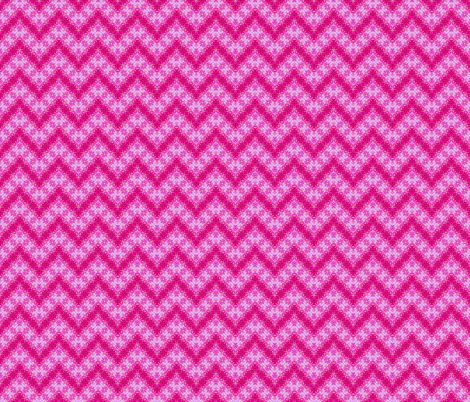 Pink Zig Zag Tie Dye Bubbles fabric by just_meewowy_design on Spoonflower - custom fabric