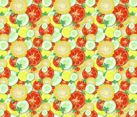 SummerFresh fabric by 1103_dpl on Spoonflower - custom fabric