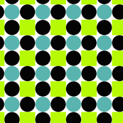 Dotts and Squares green