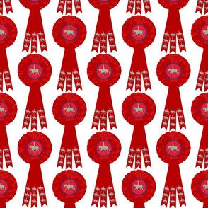 Rosette Rosette - Show Pony Red White
