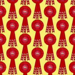 Rosette Rosette - Show Pony Red Blue Yellow