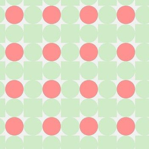 Dotted pattern green