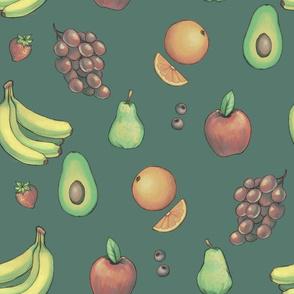 Fruity (muted pattern)